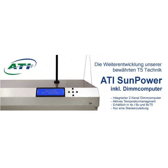 ATI Sunpower 6x80 Watt Dimmbar