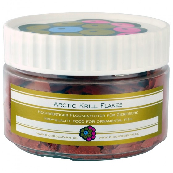 Ricordeafarm Arctic Krill Flakes 250ml