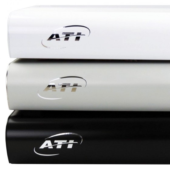 ATI Hybrid LED Powermodul 6x80 Watt T5 + 4x75 Watt LED WiFi - Silber