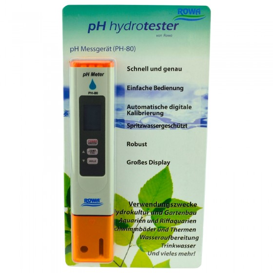 Rowa Hydrotester pH-Meter