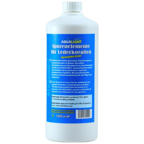 Aqualight Spurenelemente für Lederkorallen 250 ml